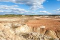 View opencast mining Royalty Free Stock Photography