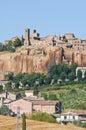 View of Orvieto. Umbria. Italy. Stock Photos