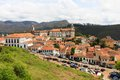View of ouro preto brazil is a city in the state minas gerais a former colonial mining town the focal point the gold rush Stock Image