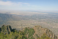 View Over Albuquerque, New Mexico Stock Photography