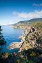 View over beautiful Tasman coastline Stock Photo