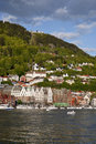 View over Bergen Stock Photos