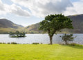 View over Crummock Water in Lake District Royalty Free Stock Images