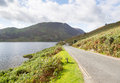 View over Crummock Water in Lake District Stock Photos
