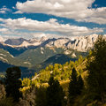 View over dolomite alps Stock Images