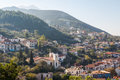 A view over Kyparissia village, Peloponnese Royalty Free Stock Photo