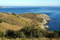 View over a Mediterranean marine reserve Royalty Free Stock Photos