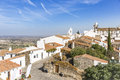 View over Monsaraz town, Évora District, Portugal Royalty Free Stock Photo