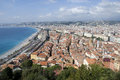View over nice, cote d'azur Royalty Free Stock Photo