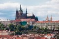 View over Prague Castle Royalty Free Stock Photography