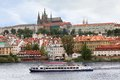View over Prague Castle Stock Photo