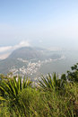 View over rio de janeiro panoramic brazil south america Royalty Free Stock Photo