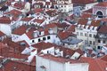 stock image of  View over roofs of Baixa
