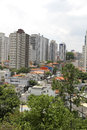 View over Sao Paulo Royalty Free Stock Photography