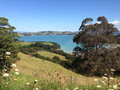 View over Waiheke Island landscape Royalty Free Stock Photo