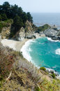 View on pacific cost california usa in big sur area Stock Image