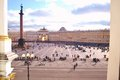 View of Palace Square Royalty Free Stock Photo