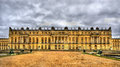 View of the Palace of Versailles Royalty Free Stock Photo