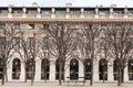 View palais royal palais royal garden paris france Stock Images