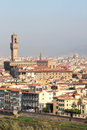 View at the Palazzo Vecchio in Florence, Italy Royalty Free Stock Photo
