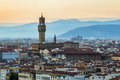 View of Palazzo Vecchio, Florence, Italy Royalty Free Stock Photo
