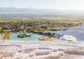 View at Pamukkale Turkey Royalty Free Stock Photo