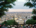 View on Paris. Stock Image