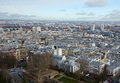 View of Paris from the top Royalty Free Stock Photo