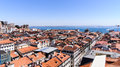 A view part of the city of lisbon portugal Stock Photography