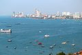 View of Pattaya city Royalty Free Stock Photography