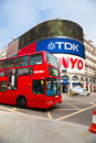 View of Piccadilly Circus, london, uk. Royalty Free Stock Photo