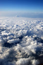 View from a plane Royalty Free Stock Image