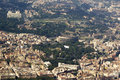 View from plane at rome italy a during flight to rome Stock Photography