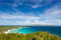 View point boracay island asia Royalty Free Stock Images