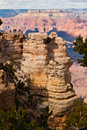 View point of the grand canyon Royalty Free Stock Photography