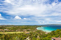 View point on island boracay philippines Royalty Free Stock Photography