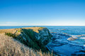 View from the Point Kean Viewpoint, Kaikoura New Zealand. Royalty Free Stock Photo