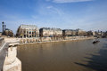View from the pont neuf and the latin quarter paris Royalty Free Stock Images