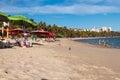 View of Ponta Verde Royalty Free Stock Photo