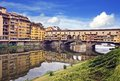 View of ponte vecchio florence italy Stock Photos