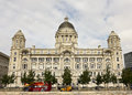 A View of the Port of Liverpool Building Stock Photography