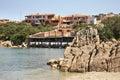 View of Porto Cervo. Sardegna. Italia Royalty Free Stock Photo