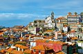 View of porto daytime the city portugal december Royalty Free Stock Photo