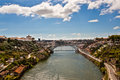 View of Porto and Douro river Royalty Free Stock Photo