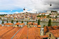 View of porto portugal from vila nova de gaia Stock Images