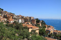 View of Porto Santo Stefano Stock Photography