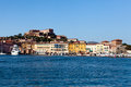 View Of Portoferraio Marina Royalty Free Stock Image