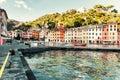 View of Portofino Stock Images