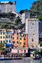 View in portovenere italy porto venere beautifull village Royalty Free Stock Images