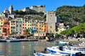 View in portovenere italy porto venere beautifull village Stock Photo